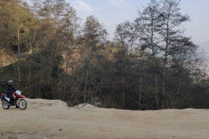 Travel Nepal on motorbike