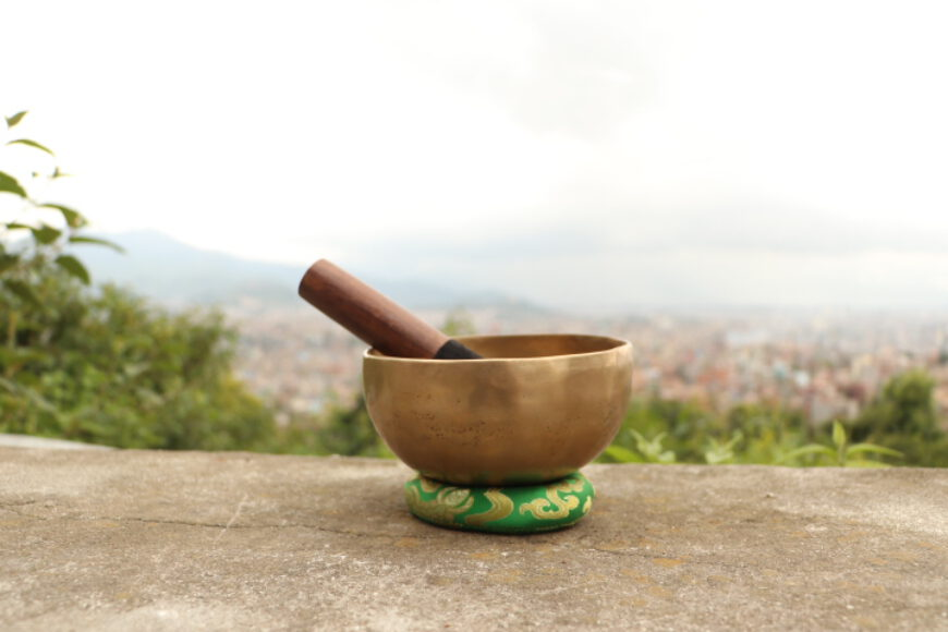 Singing bowl benefits